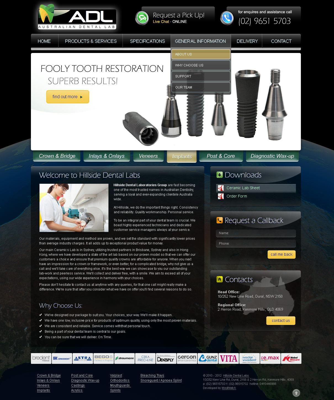 dental-web-design-adl