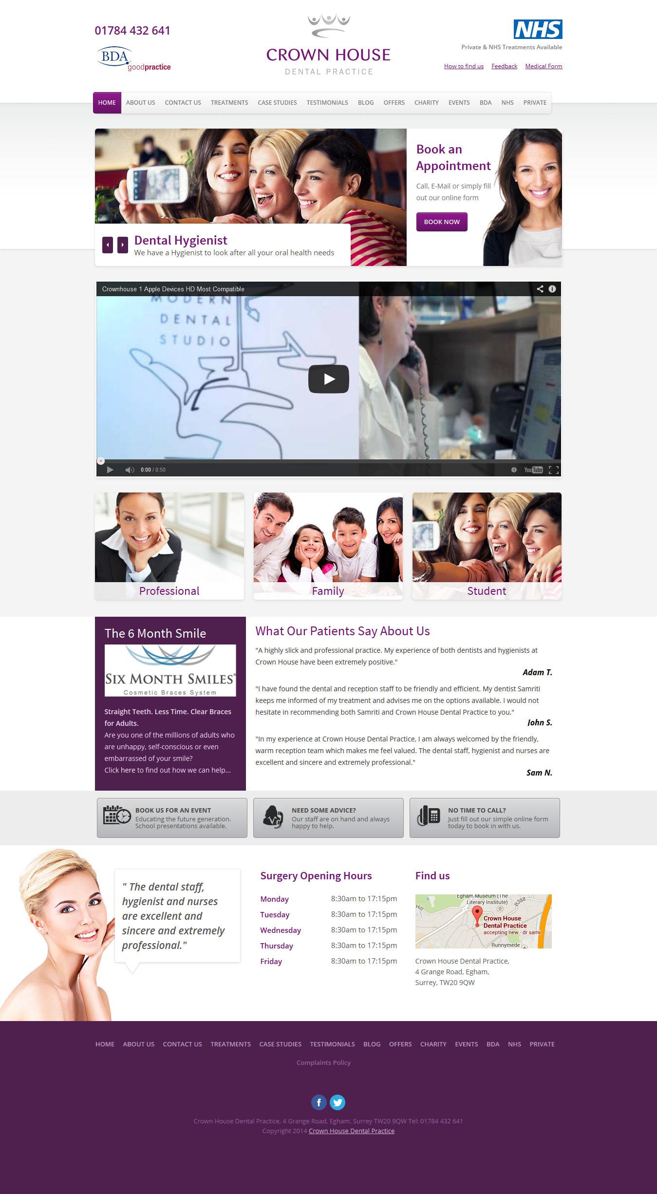 dental-web-design-crownhouse