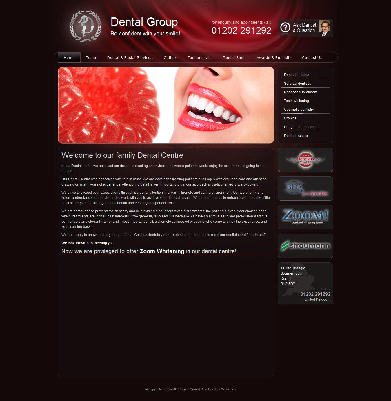 dental-web-design-dentalgroup