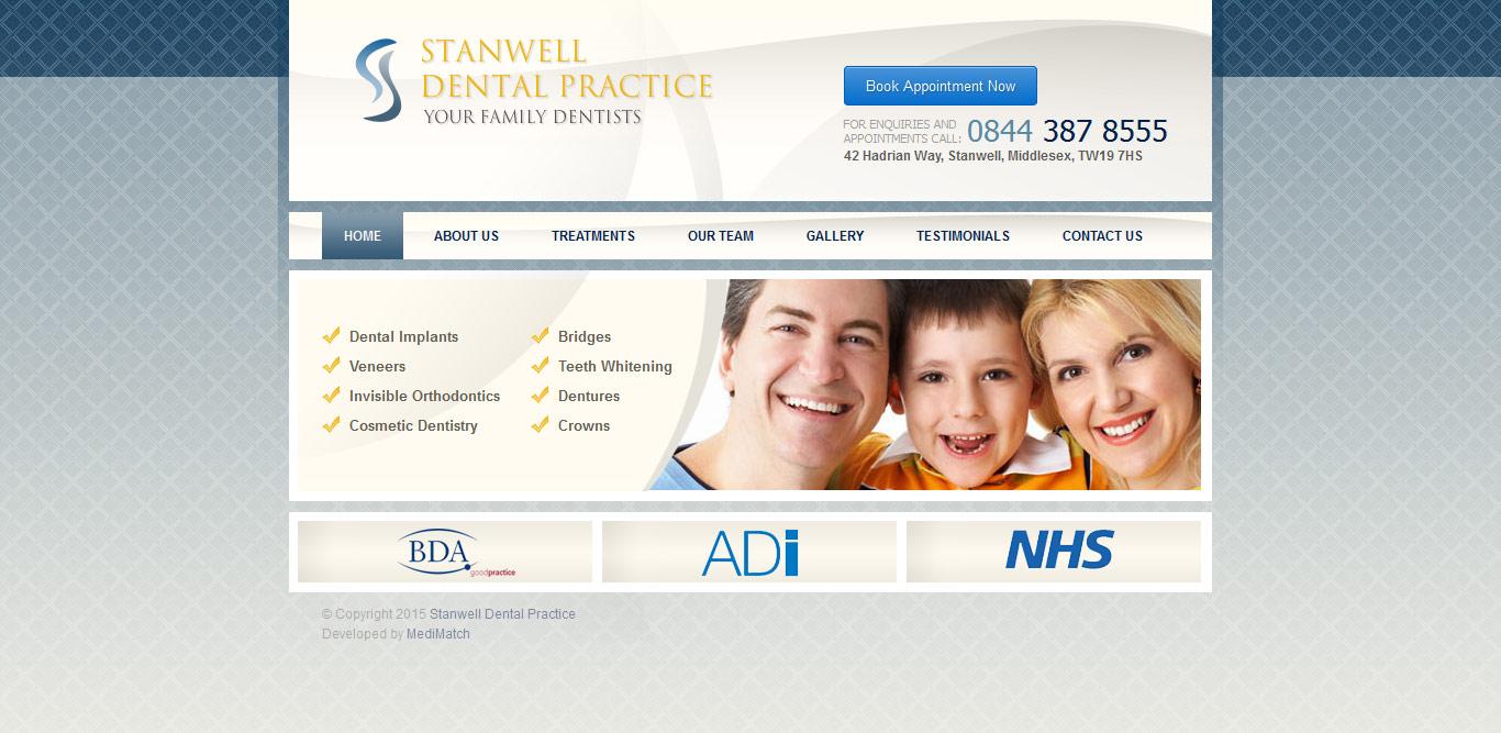dental-web-design-stanwell