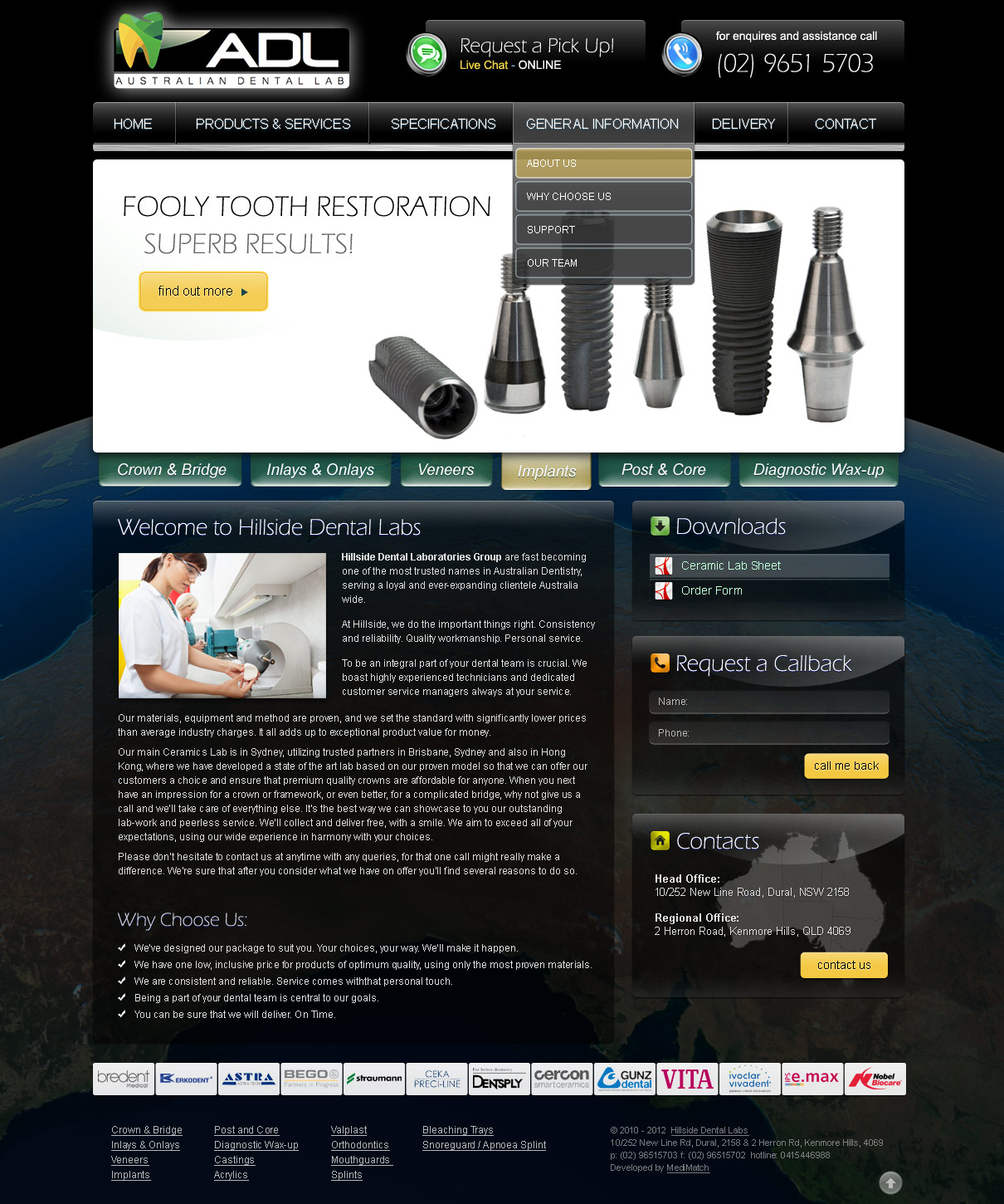dental-web-design-adl