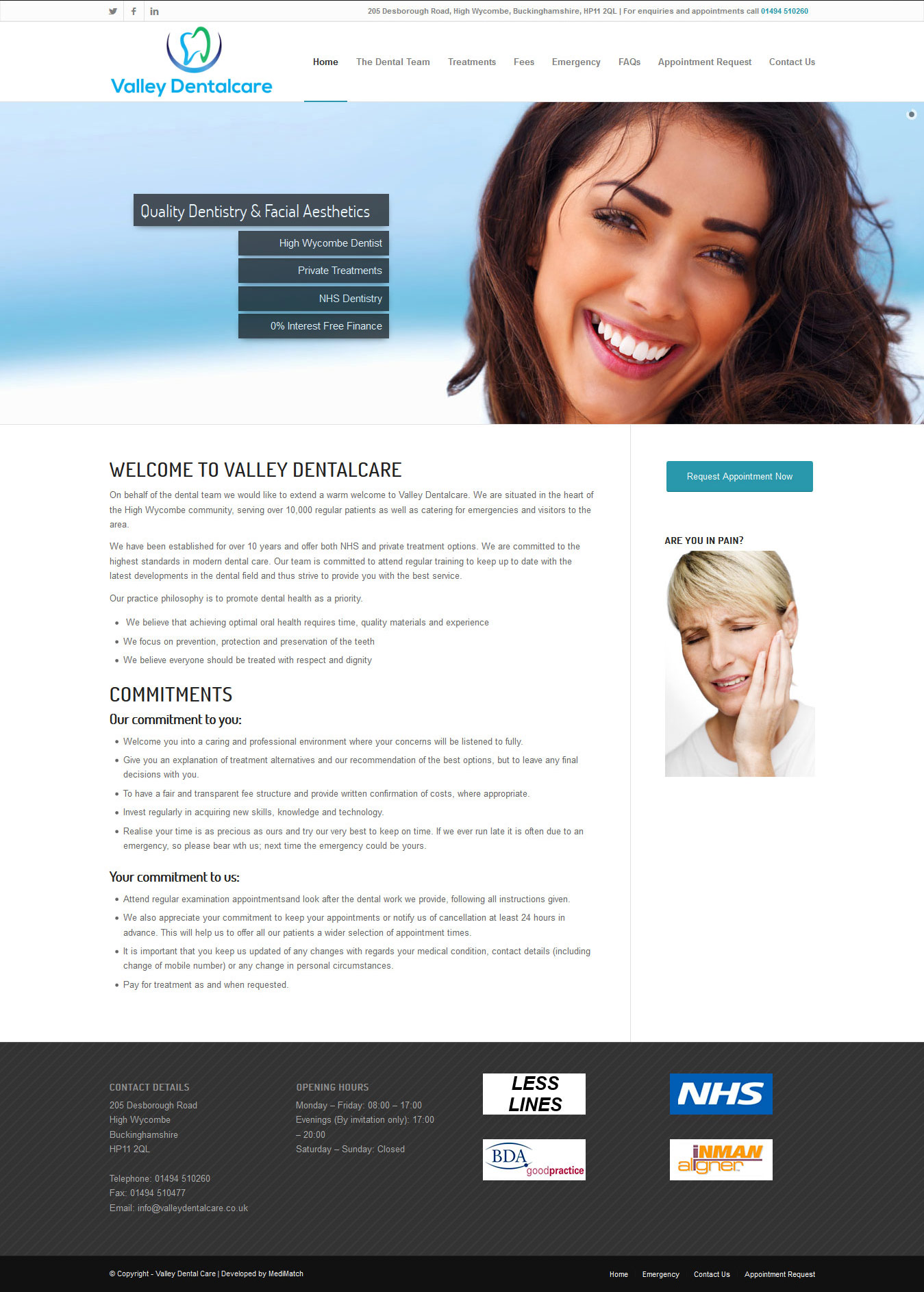 dental-web-design-valleydental